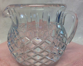 Lead Glass Pitcher
