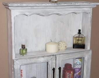 Primitive  Farmhouse Medicine Jelly Bathroom Cabinet Shelf