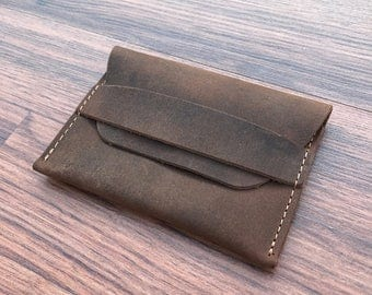 Coin Purse Wallet, PERSONALIZED Leather Wallet, Women's Leather Wallets, Perfect Gift Leather Wallet, Minimalist Wallets, Groomsmen Gift