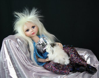 Star BJD by artist Lisa Olson