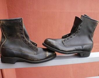 vintage ansi boots