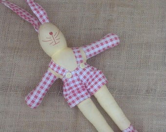 """Rabbit """"Dolls with Personality"""" by Eddy Berkeley of Hollywood"""