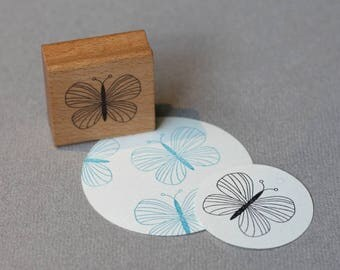 Stamp Butterfly Emma
