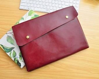 macbook pro sleeve, macbook air sleeve, macbook sleeve 13.3 ,macbook bag 13.3 , macbook air 13.3 sleeve,leather laptop bag 13.3 macbook-043