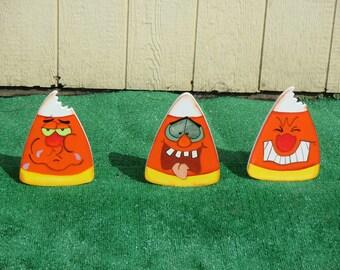 Halloween Candy Corn Yard Signs