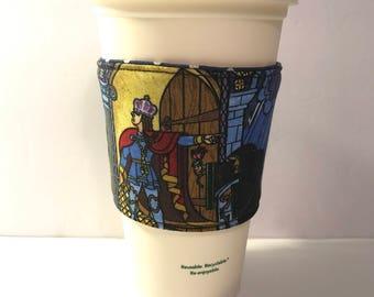 Coffee Cozy, Disney Drink Cozy, Drink Cozy, Tea Cozy, Hot Chocolate Cozy, Drink sleeve, cup sleeve, Disney Drink sleeve