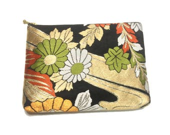 Fleur pouch of Kimono Obi
