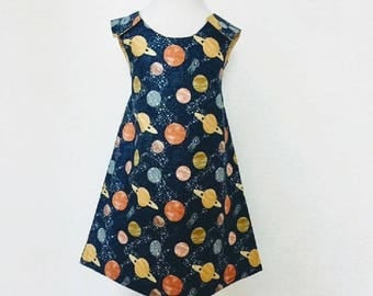 To the moon and back Pinafore Dress