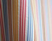 Striped seersucker cototn...