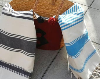 Classy pink beach towel 100% cotton