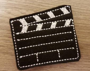Film Movie Clapperboard Paper Clip