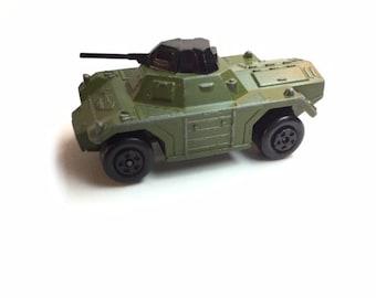 Matchbox army tank