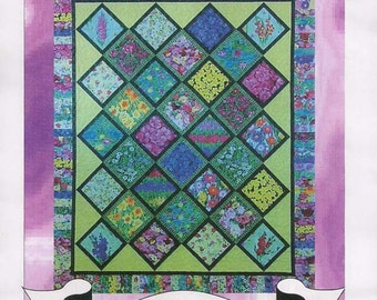 Summer Blooms pattern by The Cozy Quilt