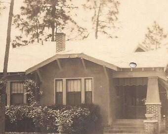 House Photo Postcard, Vintage Photograph, Postcard, Door-to-Door Sales, Talbot Avenue, Correspondence, Black and White Photo