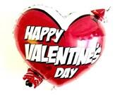 Valentine's Day Balloon Balloons- Heart Balloons