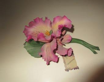 ITALY CAPODIMONTE FLOWER