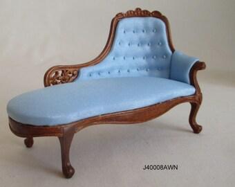 1/12 Scale Dollhouse Roombox Diorama Victorian Chaise Lounge Jbm J4008#c
