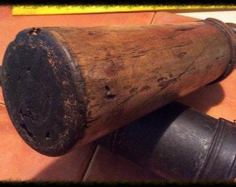 Antique Sausage Stuffer. Vntage Industrial metal tool.