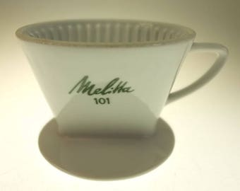 Coffee filter Porcelain filter Melitta white 101 porcelain filter