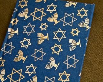 Hanukkah Fabric Etsy