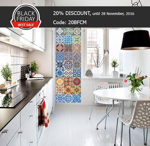 portugiesische fliesen patterns von homeartstickers auf etsy. Black Bedroom Furniture Sets. Home Design Ideas