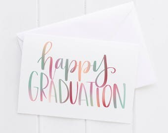 Graduation high school college card,motivational print, typography teacher gift,mother sister holiday present,volunteer home decor quote