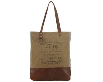 Sunsa woman Shopper Handbag canvas bag shoulder bag Artno.: 51675