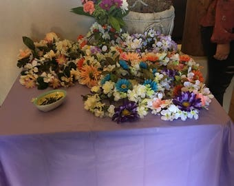 Hand made floral crowns