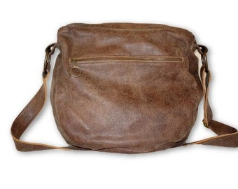 Brown Leather Crossbody Bag, Italian Leather Bag, Leather Messenger Bag , Messenger Bag, Messenger Bag Women, Brown Leather Bag