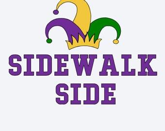 Sidewalk Side svg