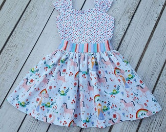 Princess and Unicorns dress