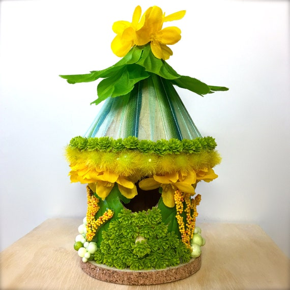 Items Similar To Tiny Enchanted Fairy Garden Doll House