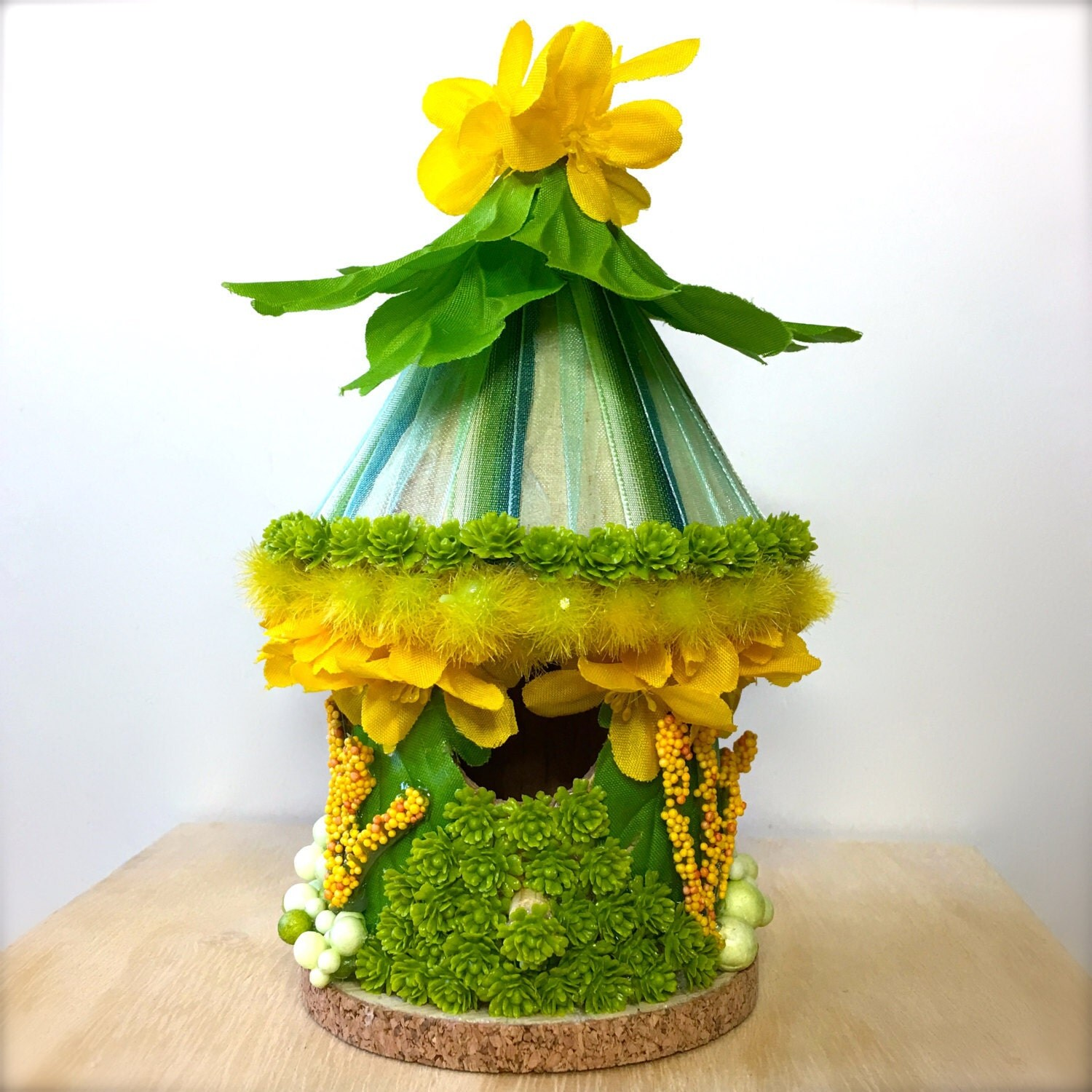Tiny Enchanted Fairy Garden Doll House: First Signs Of Spring