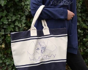 Wurlawy Canvas Shopper