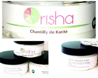 Chantilly of shea butter with essential oil of rose wood