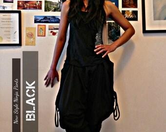 New Style Black Ninja Pants - shortB
