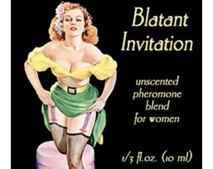 Blatant Invitation - UNscented Pheromone Blend - for Women - Love Potion Magickal Perfumerie