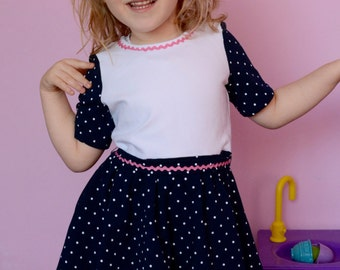 Dotty girls dress 3-4y