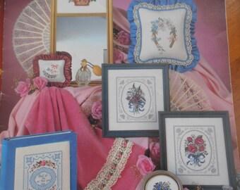 Bouquets & Lace, Leisure Arts, Pattern Leaflet #217, 1982