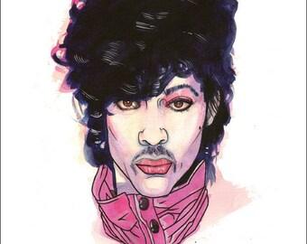 "Prince Print by Kevin L. Kuder - 8.5""x11"""