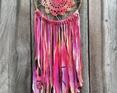 Recycled Handmade 3rd Eye Clear Quartz Crystal Dreamcatcher-1 tree is planted with every purchase