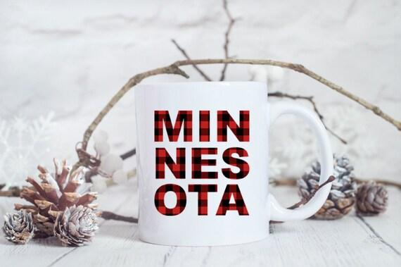 Minnesota Plaid Mug | Buffalo Plaid