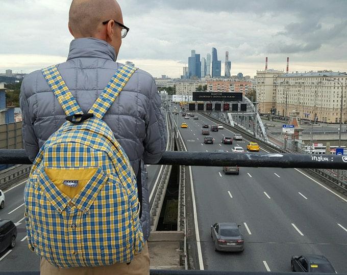 Unique backpack, vegan backpack, eco backpack, one of a kind backpack, cute backpack, rucksack, satchel, grunge backpack, messenger backpack