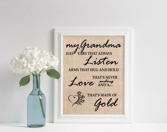 Mother's Day Gift for Grandma