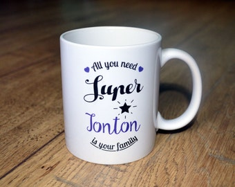 """Cup/Mug """"Great uncle"""" Cup gift ideal Uncle for birthday, Christmas..."""