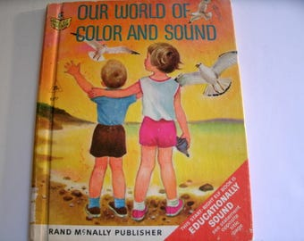 Our World of Color and Sound, Renee Bartkowski, Rand McNally Start Right Elf Book, 1967