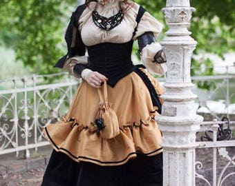Steampunk victorian dress Ready to ship SALE!