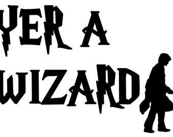 Harry Potter: Yer a Wizard w/Harry Potter
