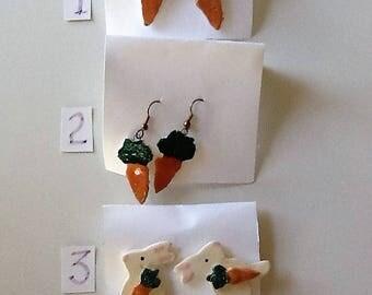 Easter Ceramic Earrings