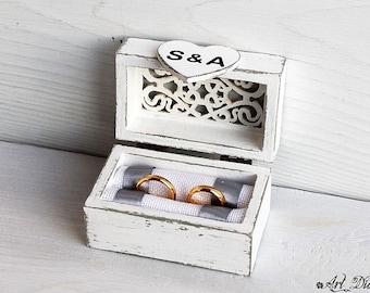 wedding ring box, ring bearer box, wooden box, ring box, custom ring holder, personalized box, ring box holder,  box holder, wedding box